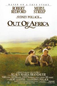out of africa PAC movie poster