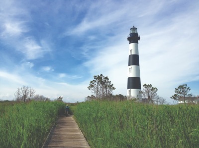 Bodie Island Lighthouse in Nags Head