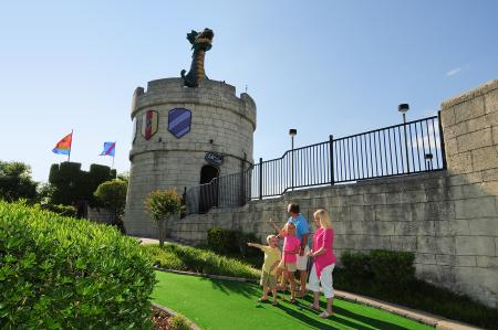 Dragon's Lair Mini Golf