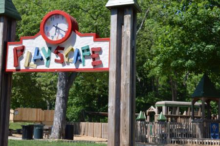 Ellis Park's Playscape