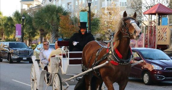 Market Common Haunted Carriages Rides