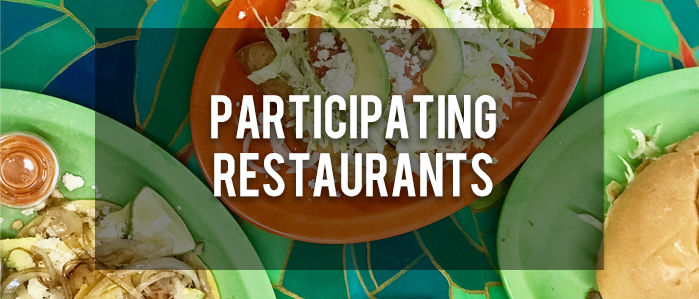 Participating Restaurants