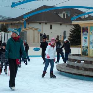 Skate the Plaza at Deep River Waterpark