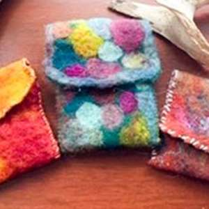 Create a Wet Felted Bag