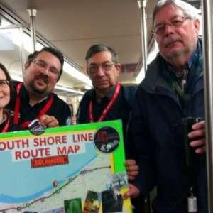 Rail Rangers on the South Shore Train