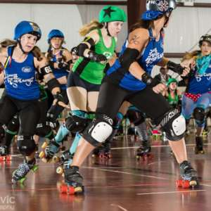 South Shore Roller Girls Live Bout