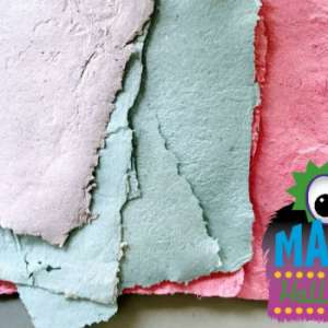 Mascot Creative Makers • Make Your Own Paper!