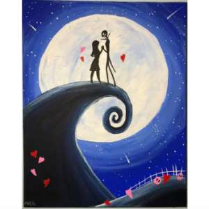 A Valentine Nightmare Painting Party (All Ages)
