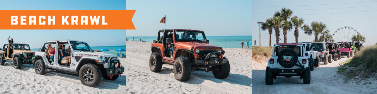 Jeep Beach Jam - Beach Krawl