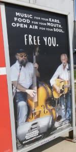 2016 Spring/Summer Co/Op - Platform Posters - MTA - Shawnee Mountain Festivals