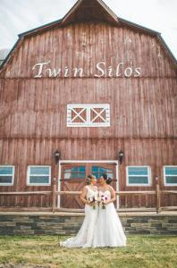 Twin Silos Barn Wedding