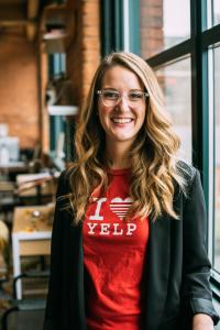 Breanna Banford, Community Director for Yelp Rochester