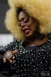 drag queen performing at the Austin International Drag Festival