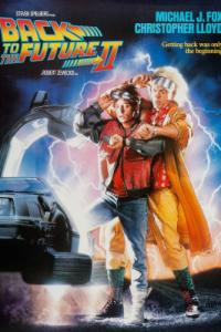 back to the future part 2 PAC movie poster