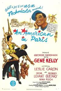 an american in paris PAC movie poster