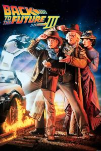 back to the future part 3 PAC movie poster