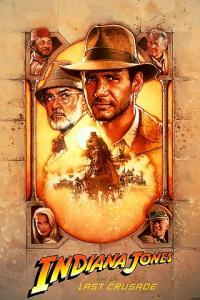 Indiana jones last crusade APC movie poster