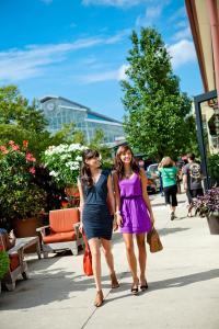Shopping at Easton Town Center
