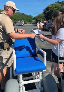 Beach Wheelchairs available in Myrtle Beach, North Myrtle Beach and Surfside Beach