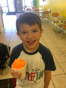 Danny's also offers Snow Cones in a wide variety of flavors.