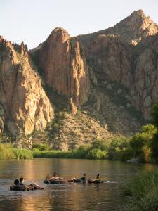 Salt River Tubing at Saguaro Lake Ranch Water Recreation