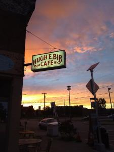 Hugh E. Birs Cafe Sign