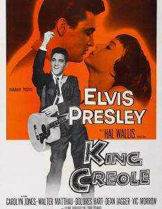 king creole PAC movie poster