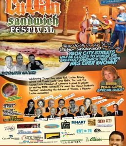 Cuban Sandwich Festival Ybor City