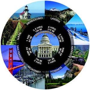 Click here for more information about adding Sacramento to your group tour itinerary.