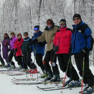 cross country skiing in Rochester area parks