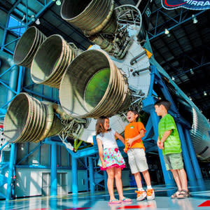 Blast off at the Kennedy Space Center Visitor Complex