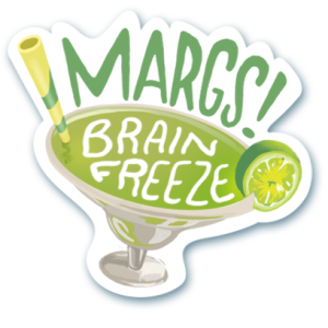 Visit Austin Margs sticker