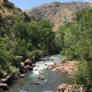 Tubing Clear Creek