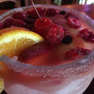 Berry Margarita at Rancho Grande Bar & Grill