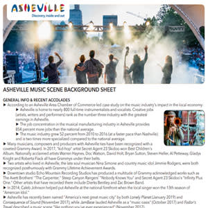 Asheville Music Scene