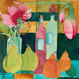 """Painting by Joanne Stramara, #7 of """"50 in 50 days"""""""