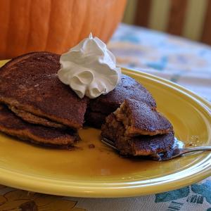 Geraldine's Kitchen Pumpkin Pancakes