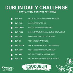 Dublin Daily Challenge Checklist