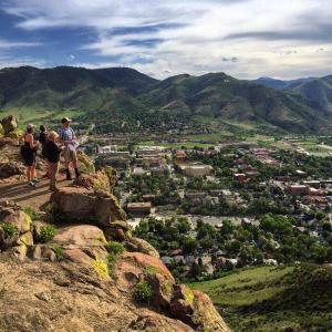 Hiking Golden Overlook