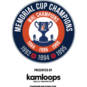 Memorial Cup Blazers Anniversary Logo