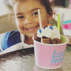 Ice Cream with Louisiana Reauxl