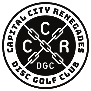 CCR Disc Golf logo