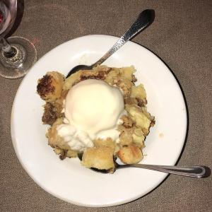 Aubri Lanes Bread Pudding
