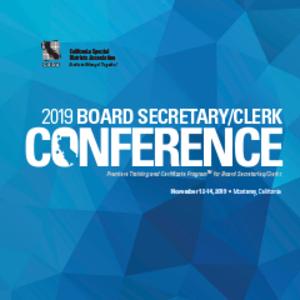 Board Sec/Clerk Conf Logo