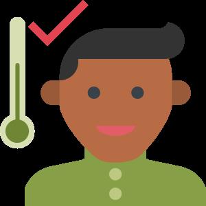 icon staff temperature