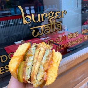 Burger Walla – cilantro chicken