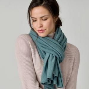 Cashmere Travel Wrap from  Bear Moon Clothing