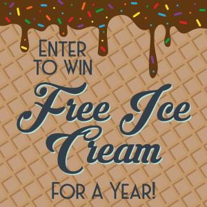 Little O's Free Ice Cream for a Year