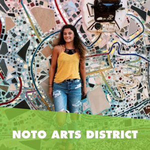NOTO entertainment and arts district