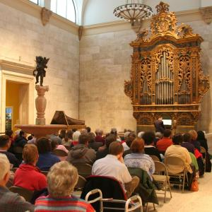 Baroque organ at Memorial Art Gallery, Rochester NY